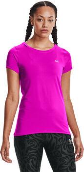 Under Armour HeatGear® Armour T-Shirt Damen pink