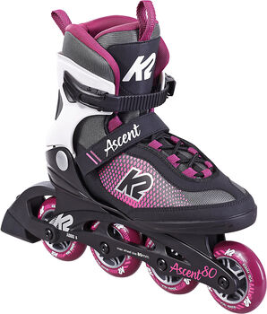 K2 Ascent 80 Inlineskates Damen schwarz