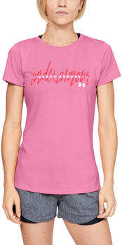 Under Armour Tech SSC T-Shirt Damen pink