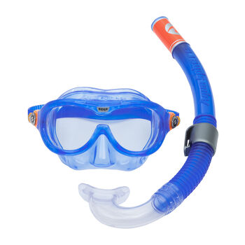 Aqua Lung Reef Set Schnorchelset blau