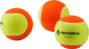 TECNOPRO Bash Stage 2 Tennisbälle orange