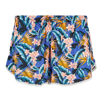 Skiny Sunset Beach Shorts Damen blau