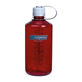 Nalgene Narrow Mouth 1l Trinkflasche rot