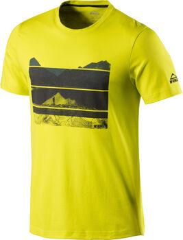McKINLEY Activeilan T-Shirt Herren gelb