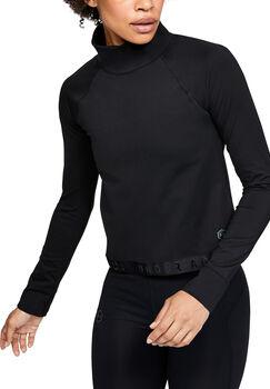 Under Armour COLDGEAR RUSH Langarmshirt Damen schwarz