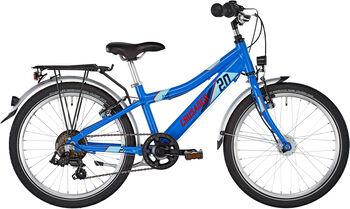 "PUKY Crusader 20-6 Alu Fahrrad 20"" blau"