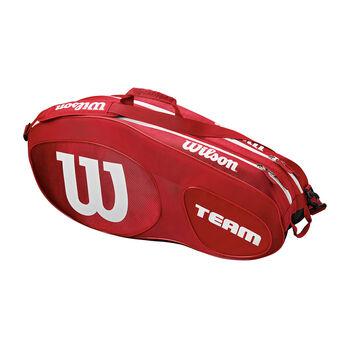 Wilson Team III 12 Pack Tennistasche rot
