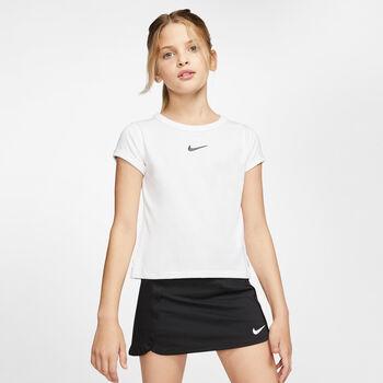 Nike Court Dry T-Shirt Mädchen weiß