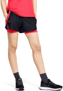 Under Armour WoPlay Up 2-in-1 Shorts Damen schwarz