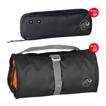 MAMMUT Washbag Travel Toiletttasche schwarz
