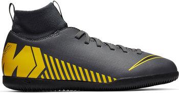Nike Superflyx 6 Club IC Hallenschuhe Jungen grau
