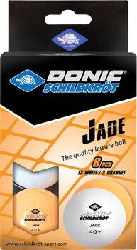 DONIC Jade Poly Tischtennisbälle weiß