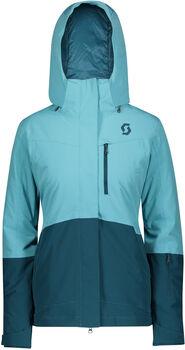 SCOTT Ultimate Dryo 10 Snowboardjacke m.Kapuze Damen blau