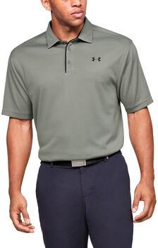Under Armour Tech Golf-Poloshirt Herren grün