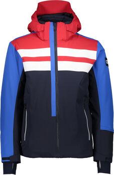 CMP Zip Hood Skijacke mit Kapuze Herren blau