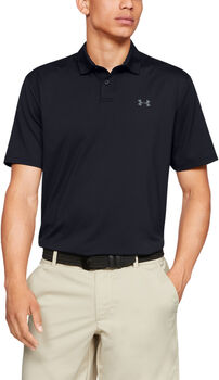 Under Armour Performance 2.0 Golf-Poloshirt Herren schwarz