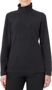 McKINLEY Amarillo Langarmshirt mit Halfzip Damen schwarz