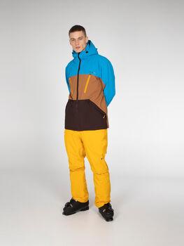 Protest Ultra Snowboardjacke mit Kapuze braun