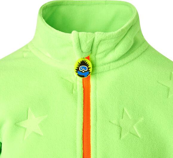 Tibo Fleece Langarmshirt mit Halfzip