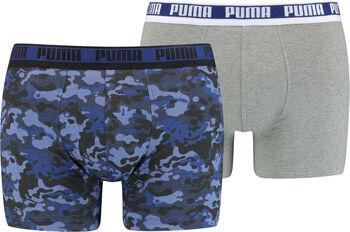 Puma Camo Boxershorts 2er Pack Herren blau