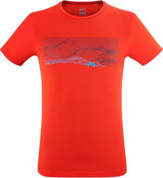 Millet Geo Mountain T-Shirt Herren rot