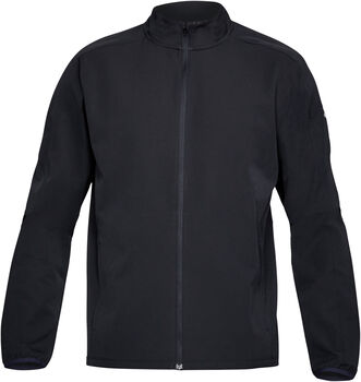 Under Armour S OUT&BACK Laufjacke Herren schwarz
