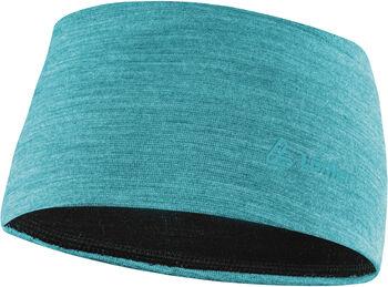 LÖFFLER Stirnband Merino blau