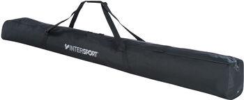 INTERSPORT Langlauf-Skisack für 2 Paar schwarz