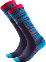 Socky.Skisocke, vollgeplüscht,fbg.Strick,
