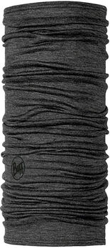 Buff Lightweight Merino Wool Solid Grey Multifunktionstuch braun