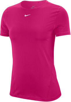 Nike Pro Mesh T-Shirt Damen pink