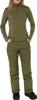 FIREFLY Superpipe Langarmshirt Damen grün