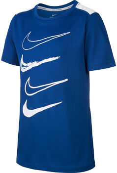 Nike Print Dry Top  blau