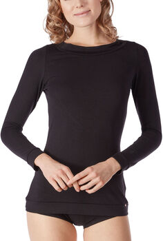 Skiny Yoga&Relax Performance Langarmshirt Damen schwarz