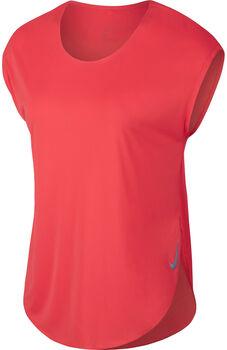 Nike City Sleek Laufshirt Damen orange