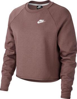 Nike Sportswear Tech Fleece Crew Sweater Damen braun