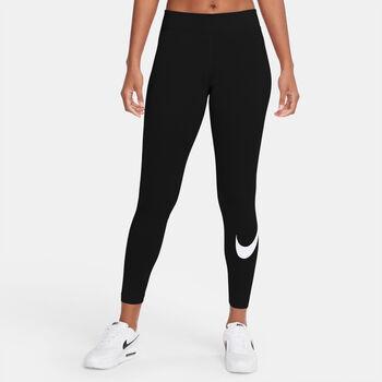 Nike Sportswear Essential Swoosh Tights Damen schwarz