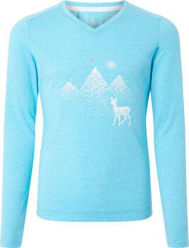 McKINLEY Borra Langarmshirt Mädchen blau