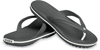 Crocs Crocband Flip Wellnesssandalen Herren schwarz