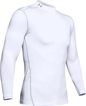 Under Armour Compression Shirt Herren weiß