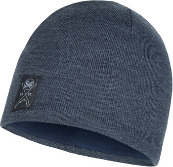 Buff Solid Knitte & Polar Mütze blau