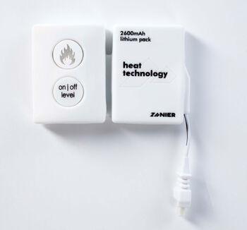 ZANIER HEAT Heizbatterie weiß