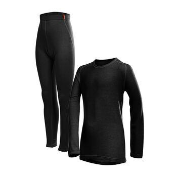 LÖFFLER Transtex® Warm Unterwäsche-Set schwarz