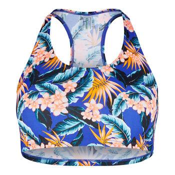 Skiny Aloha Bikini Top Damen blau