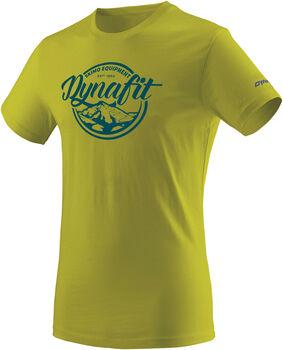 DYNAFIT Graphic Cotton T-Shirt Herren grün