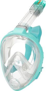 TECNOPRO FullFace Mask M9 C Maske & Schnorchel blau
