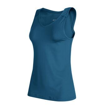 MAMMUT Splide Logo Top Damen blau