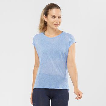 Salomon X Alps Tech T-Shirt Damen blau