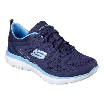Skechers Summits Suited Fitnessschuhe Damen blau