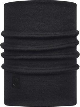 Buff Heavyweight Merino Wool Multifuktionstuch schwarz